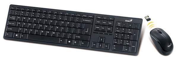 GENIUS klávesnice s myší Slimstar 8000ME - bezdrátový set