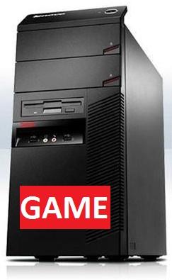 Herní Lenovo ThinkCentre M81/ AMD RX 460 4GB/ Intel/ 4GB/ 250GB/ DVDRW/ W7 Pro