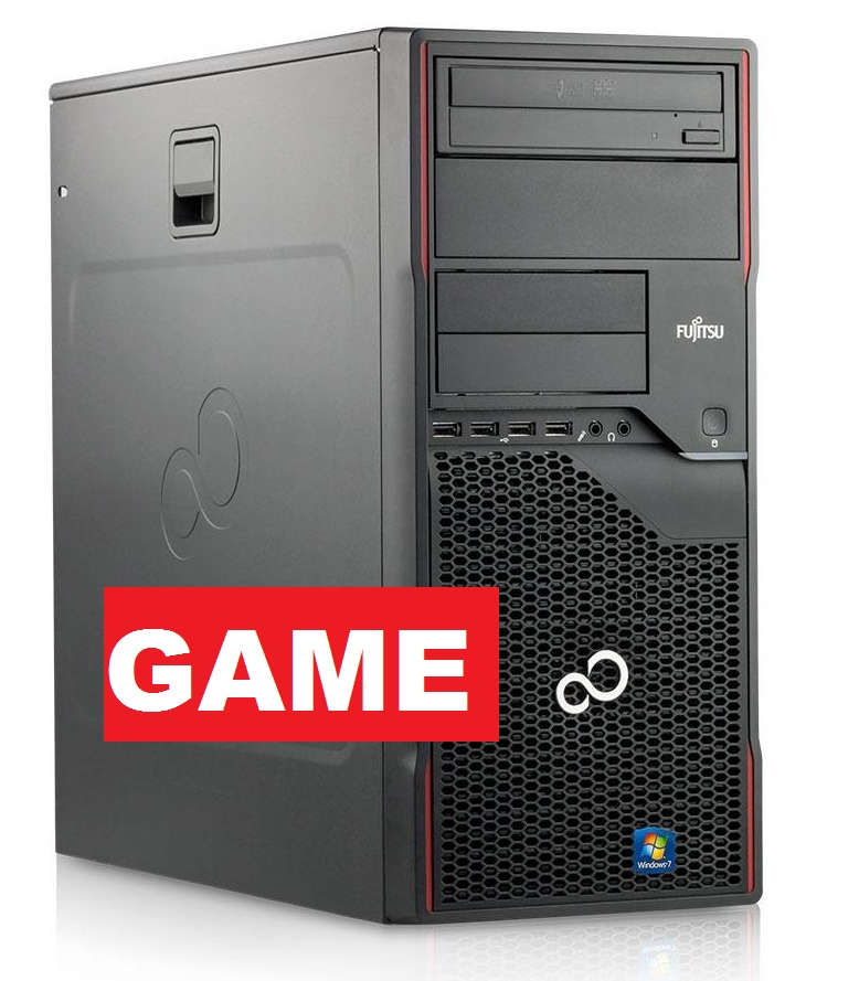 Herní Fujitsu P700/ Nvidia GTX 1050Ti 4GB / 320GB/ DVDRW/ W7/10 Pro